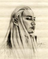 Thranduil ~ sketch by Ascendead--Master