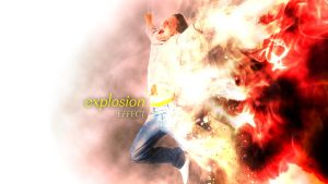 explosion effect by dem0nice