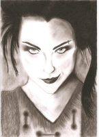 Amy Lee of Evanescence by bloodyevilfairy