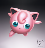 Jigglypuff by hybridmink