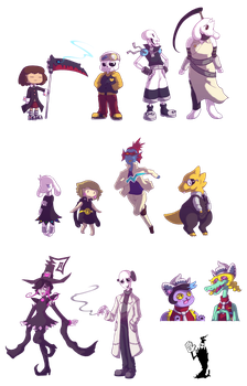 Undertale x Soul Eater by world-dominashunXD