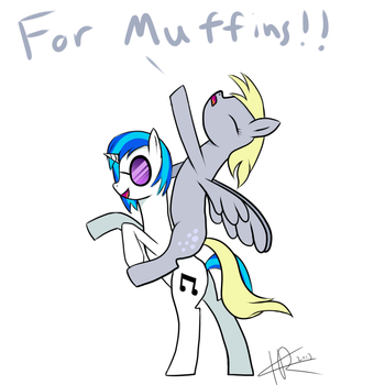 For Muffins!! by Redlak
