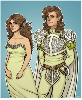 Tyrell siblings by Enife