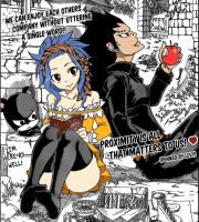 GaLe Fairy Tail Color by Merevy1706