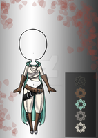 (closed) $3,50 - Lonely Adventurer Outfit Adopt by CherrysDesigns