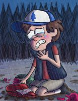 Dipper's Heart Shaped Box by JFMstudios