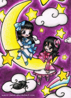 Chibi: Twins of the Moon by mays-sama