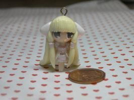 Polymer Clay Chii Chobits Charm by sanxcharms