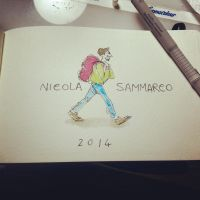 Start of the new moleskine by nicolasammarco