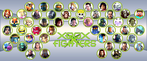 Xbox X Fighters Final Roster by Hangman95
