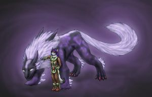 Request- Fenrir Summoner by 13blackdragons