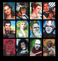 Topps Star Wars GALACTIC FILES Batch 4 by MJasonReed