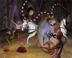 The Unhomely Circus of Existence by SabinaNore