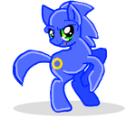 sonic pony vercion by Cele-Ari