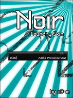 Noir Launchy Skin by n3-m