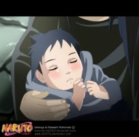 COLLAB baby sasuke by annria2002