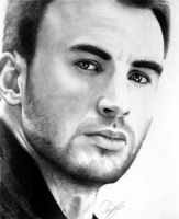 Chris Evans by Schoerie