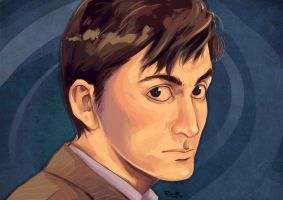 10th Doctor - David Tennant by HRandt