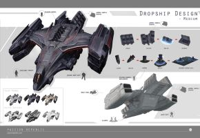 Dropships - Medium by johnsonting