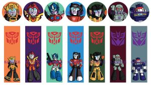 Chibi Transformers Designs by lizstaley