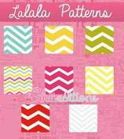 Lalala patterns by fabii27