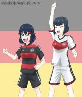 World Cup Fever (SatsuRyu) by h0saki