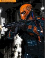 DEATHSTROKE Cosplay Costume (Arkham Origins) 2.0 by DadpoolCosplay