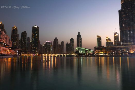 DownTown Dubai by afraziftikhar