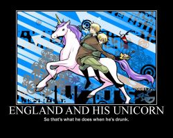 England and His Unicorn by SicilyNotDenmark