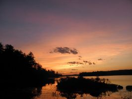 Sunset Stock On  Patten Pond8 by gimpearl