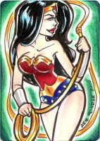 Wonderwoman card 1 by mainasha