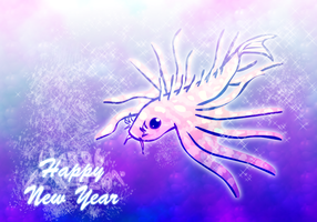 Happy year of the Lionfish by Brettdagirl