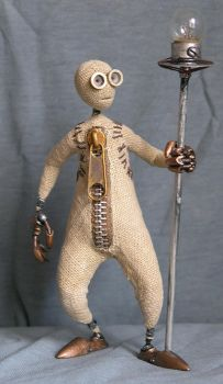 Figure-doll from an animation by RostMironov