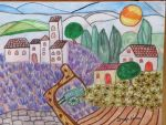 summer in provence by ingeline-art