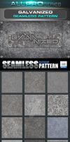 Glavanized Photoshop Pattern by ravirajcoomar