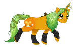 Pumpkin Pony Imnurhest Version by Imnurhest