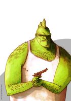 Savage Dragon by dsb