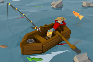 Low Poly Fishing by CactusArtz