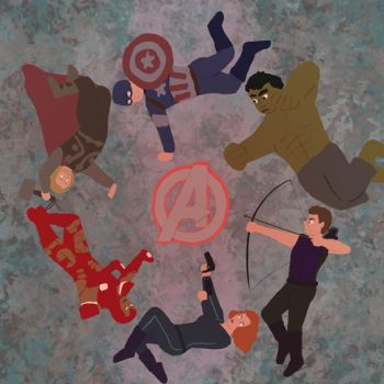 Avengers Circle by fbexplorer