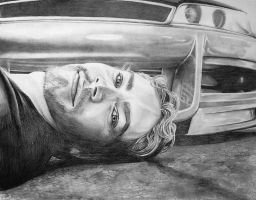 Paul Walker by GorrgonaMedussa