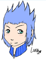 Saix's somebody, Isa. by lunalove101