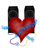 Music Heart by Keademia