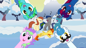 CAC Winter Holiday Art by MummifiedThunderbird