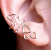 Triangular Ear Cuff by lavadragon