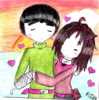 rock lee and  danny love . O . by lovescraf