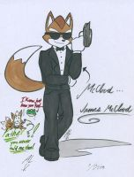 MCCLOUD... JAMES MCCLOUD by WhiteFox89
