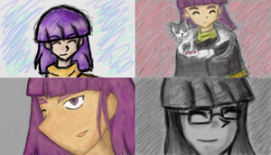 Xellos Art Academy Drawings by Skiyomi