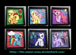 Mane 6 and Cutie Marks Collection by The-Paper-Pony