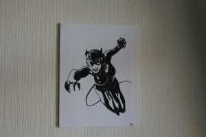 Catwoman by RichardNewlands