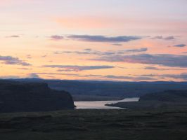 Gorge Sunset by bradstock